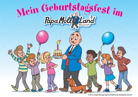 Geburtstag Papa Moll Land Bad Zurzach